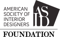 The American Society of Interior Designers Foundation logo