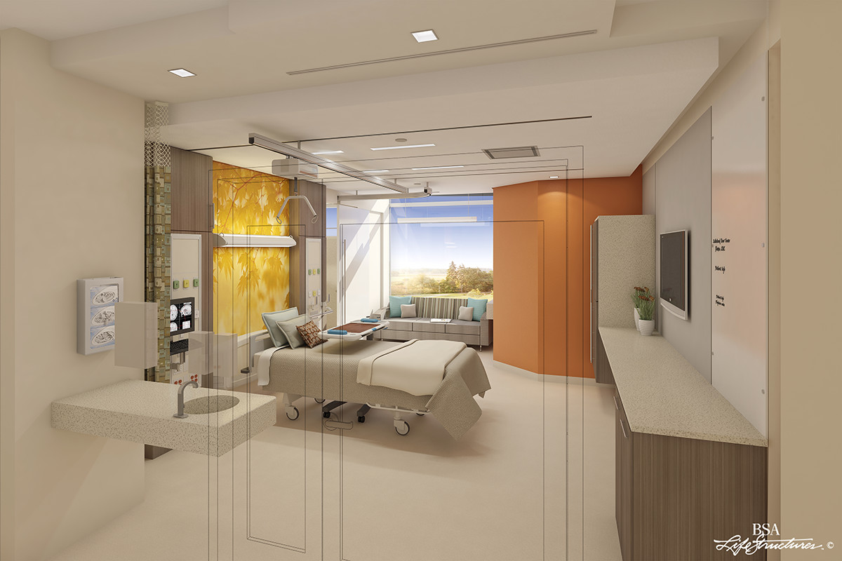 Medical surgical patient room the center for health design Make a room layout