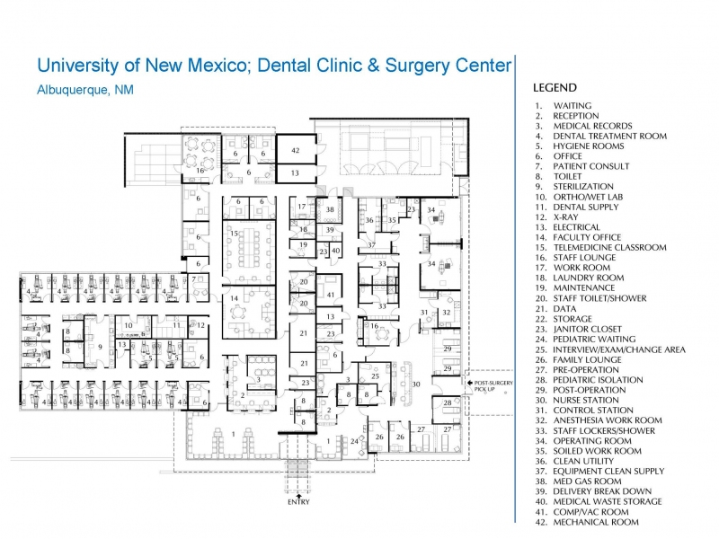 University Of New Mexico Dental Clinic And Surgery Center