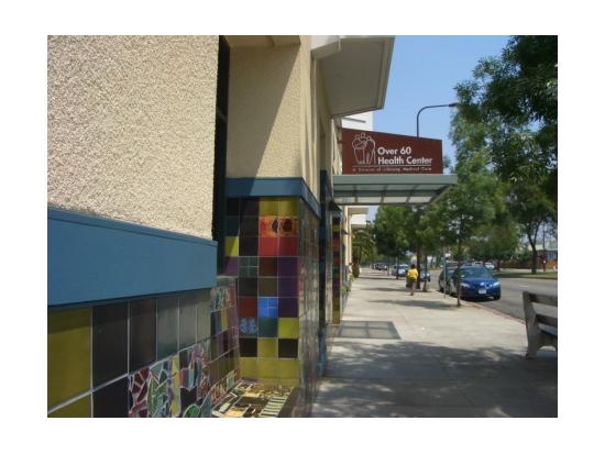 Health Center entrance