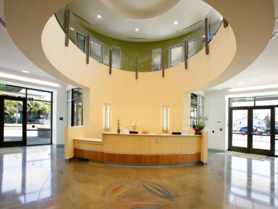 First Floor Lobby Reception Desk