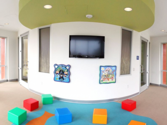 Children's Interactive Literacy Area