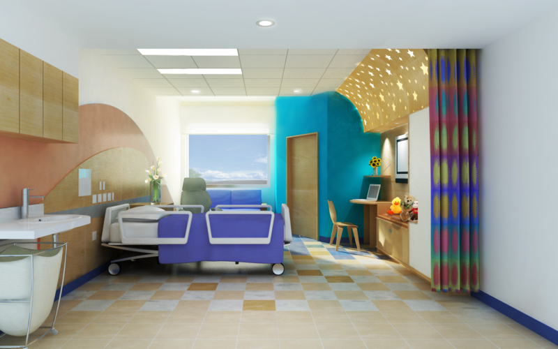 El Paso Childrens Hospital El Paso Tx The Center For Health Design